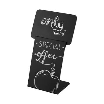 Поставка за ценови табели - черна дъска