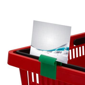 Дисплей клипс  за кутии или кошници