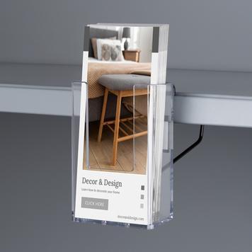 """Поставка за брошури и листовки за рафт """"Euphrat"""""""