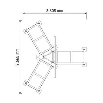"""Информационна табела за строежи Fascia III """"Mobil"""""""