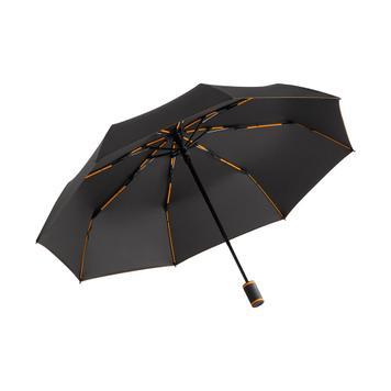 Джобен чадър AOC Mini Style с цветни шини и шевове