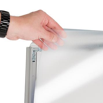 Сгъваема снап рамка от алуминий