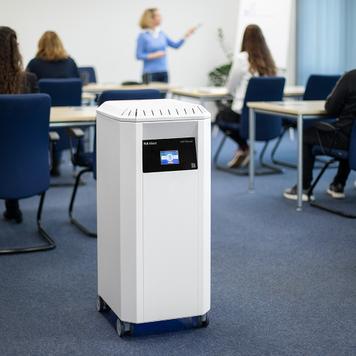 """Професионален пречиствател за въздух """"PLR-Silent"""" с HEPA филтър H14 и UV-C светлина"""
